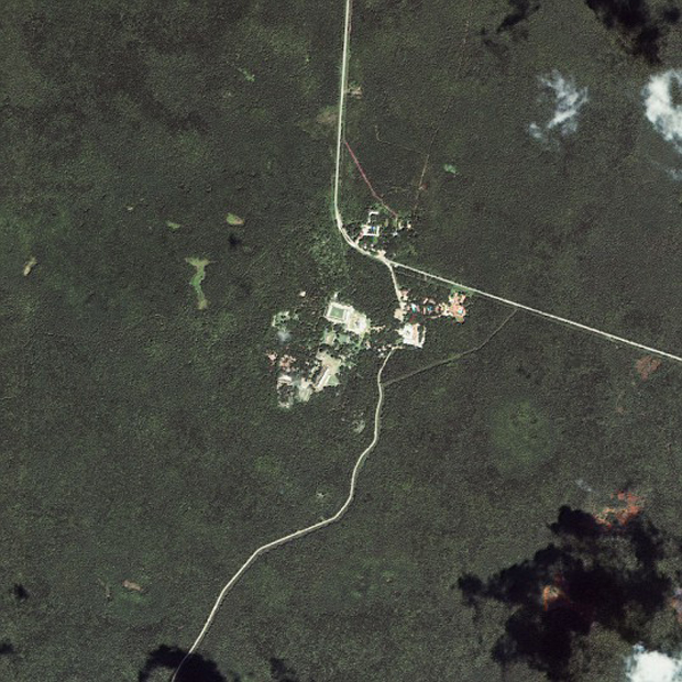 Ancient Ruins Seen From Space