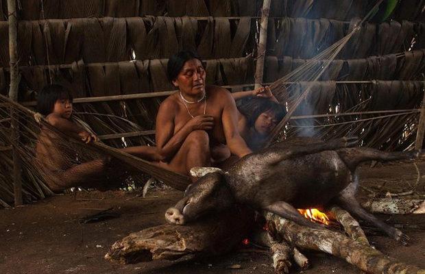 Племя хуаорани_5