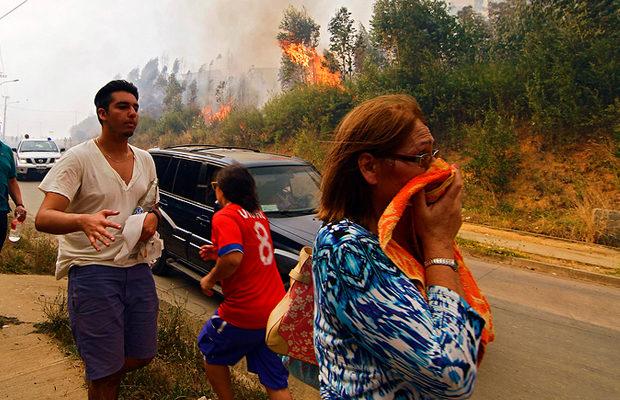 пожар в Чили_3