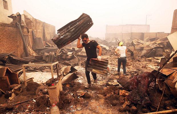 пожар в Чили_4