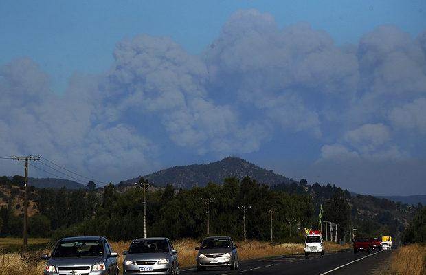 пожар в Чили_8