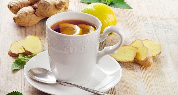 Имбирный чай_