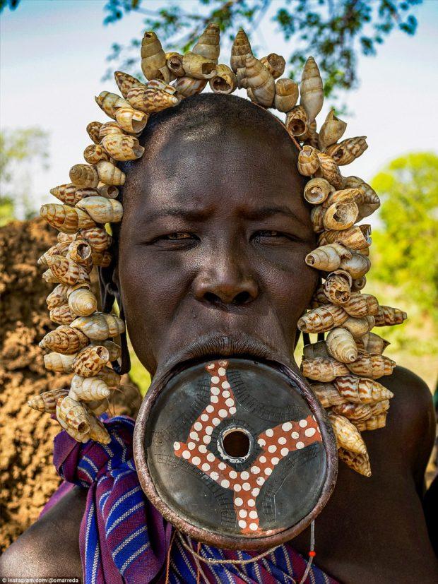 женщины эфиопских племён_4