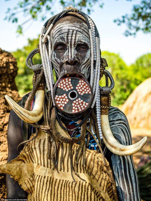 женщины эфиопских племён_5
