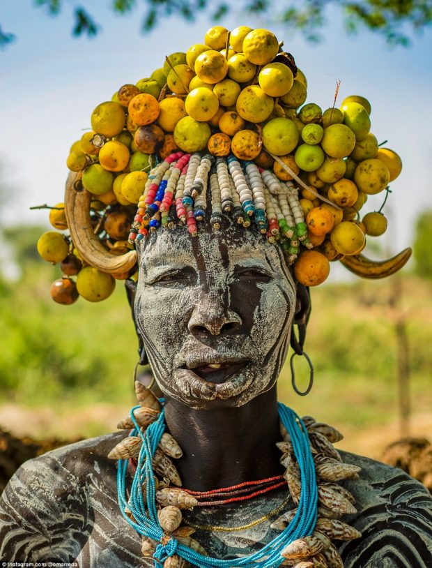 женщины эфиопских племён_6