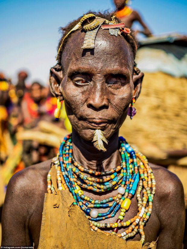 женщины эфиопских племён_7