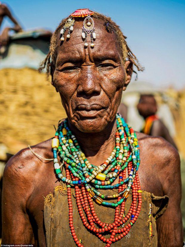 женщины эфиопских племён_8