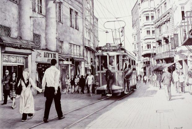 Poletaev_11 Трамвай в Стамбуле