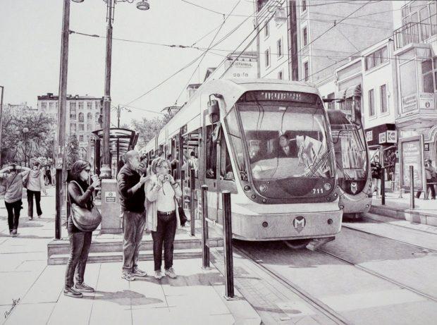 Poletaev_7 Остановка в Стамбуле