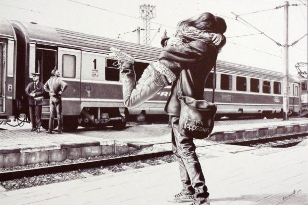 Poletaev_9 Искра на железнодорожной станции