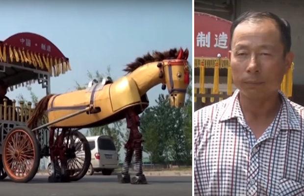 механическая лошадь