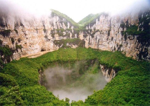 Небесная яма Китай