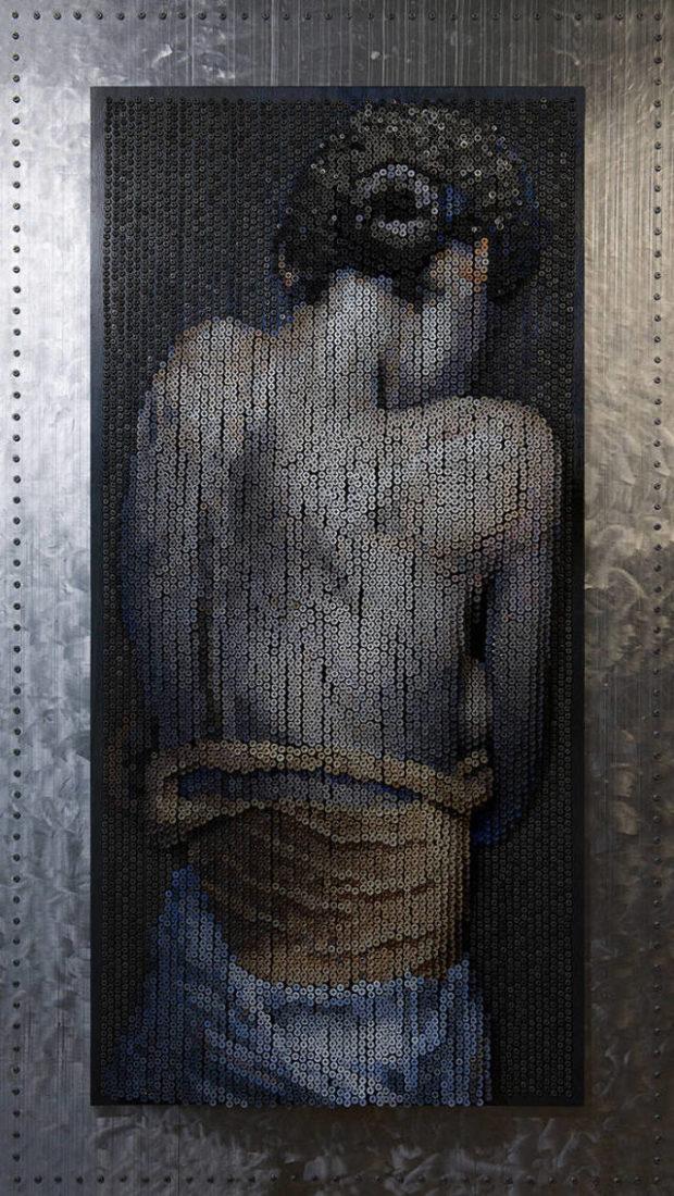 картина из саморезов_11