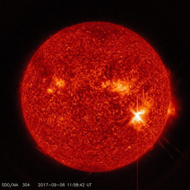 вспышка на солнце_2