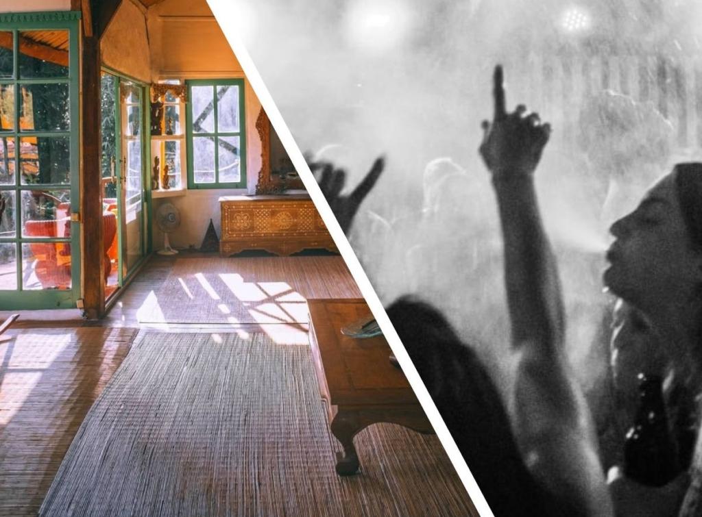 Новые хозяева хотели заменить старинный ковер в доме, но когда его подняли, поняли, что в 50-х тут были жаркие вечеринки
