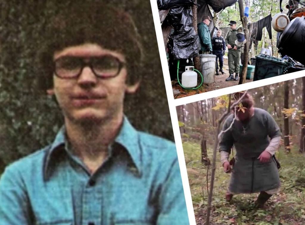 Этот мужчина пропал 27 лет назад в лесу и ни с кем не разговаривал, не видел людей, пока его не поймала полиция
