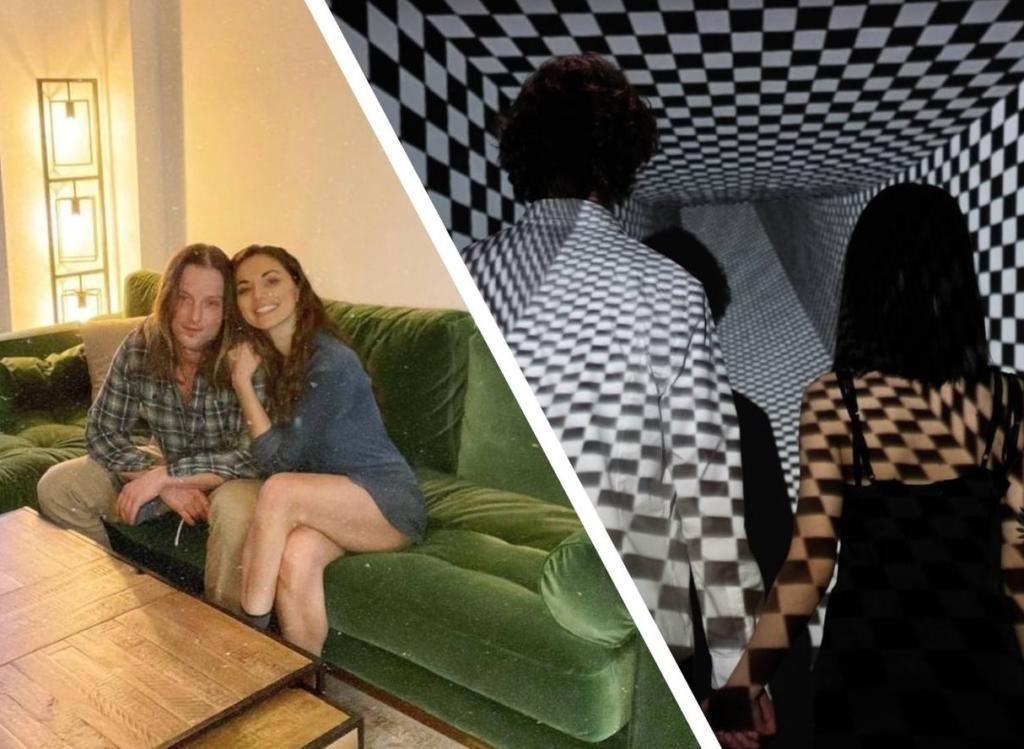 Парочка сделала фото на новом диване и создала настоящую иллюзию, которую не сможешь развидеть