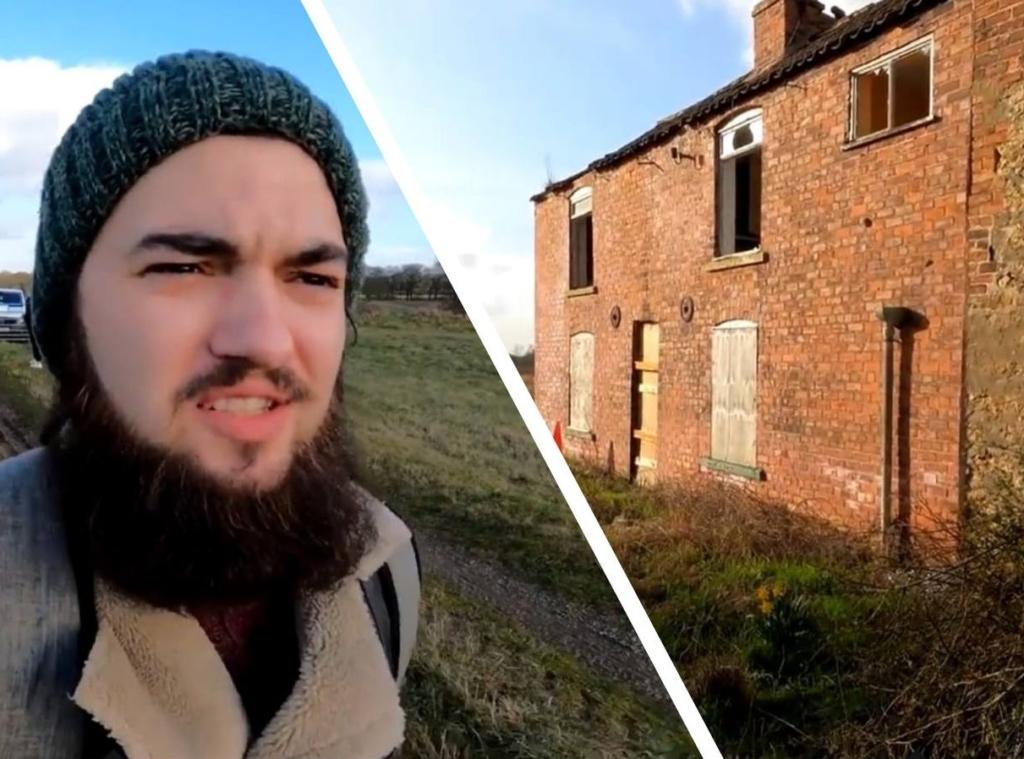 Парень тайно пробрался в заброшенный дом, где неподвижно сидели люди, но не могли говорить