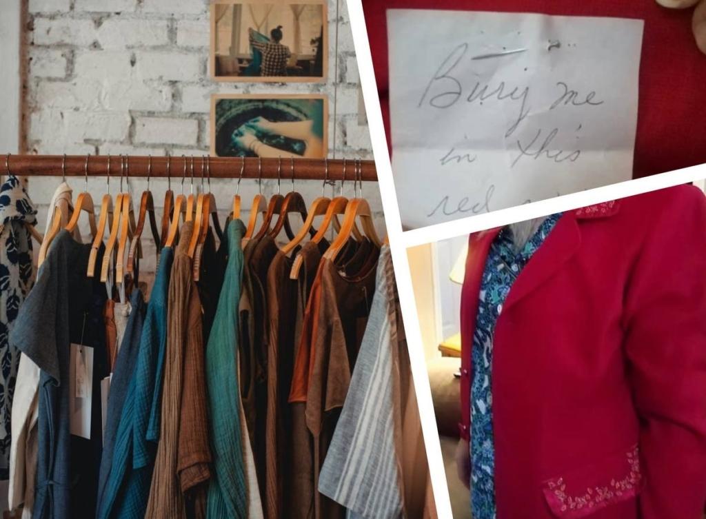 Женщина решила больше никогда не покупать секондах, после того, как нашла эту записку в кармане пиджака