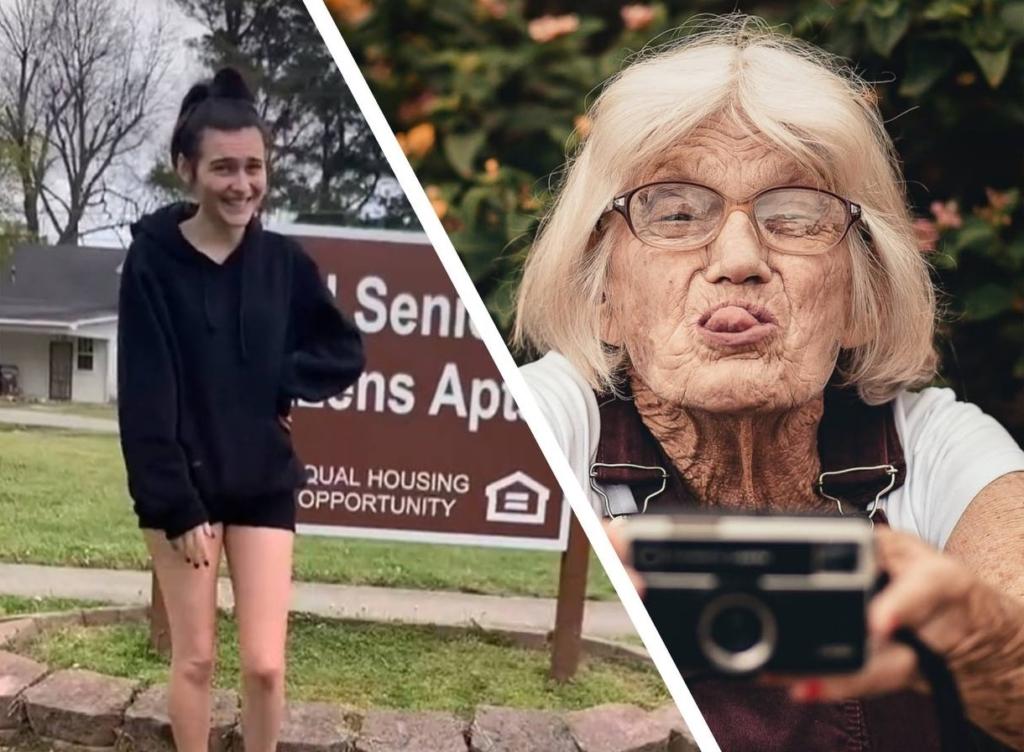 Девушка случайно сняла квартиру в комплексе для пожилых людей, и не спешит искать новые варианты