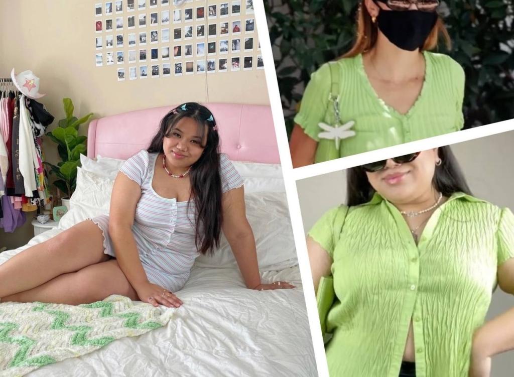 Девушка удивила интернет, показав, как одежда популярных моделей будет смотреться на девушках с пышными формами