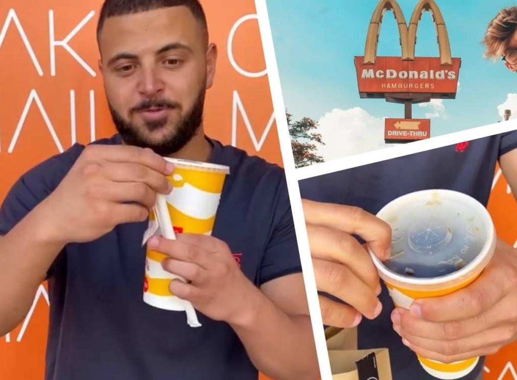 Парень показал лайфхак — как пить колу из «Макдоналдс» без пластиковой трубочки — о такой функции никто не знал