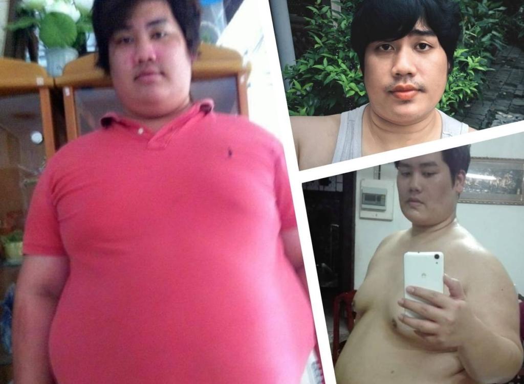 Этот парень похудел на 80 кг за год изменившись до неузнаваемости, даже друзья не узнают этого юного красавца