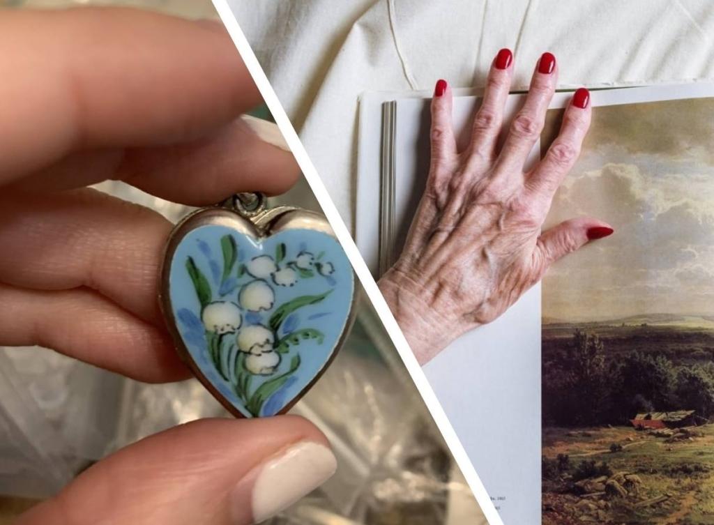 Внучка с трудом открыла медальон бабули и эти секретные фото дали понять, что наследства ей не видать