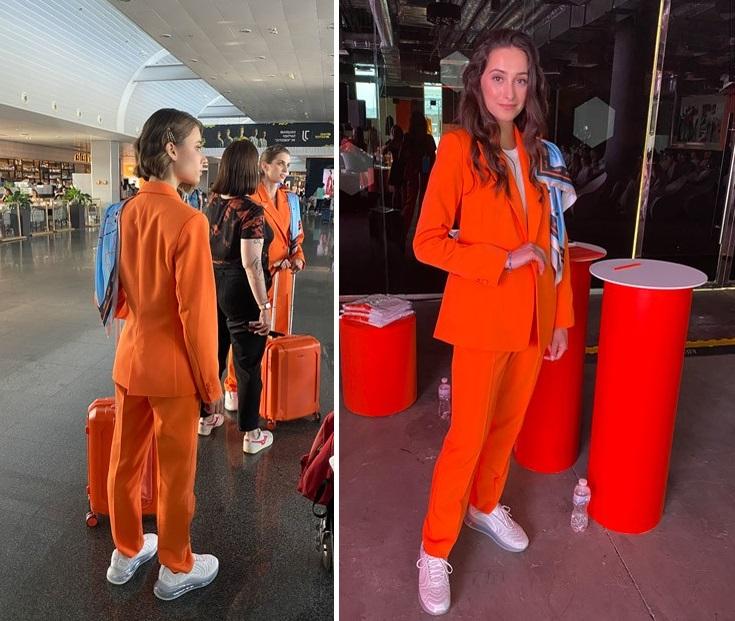 Украинский лоукостер SkyUp изменил дресс-код для своих стюардесс и теперь в этой форме можно сразу идти в спортзал Разное,дресс-код,стюардесса,форма