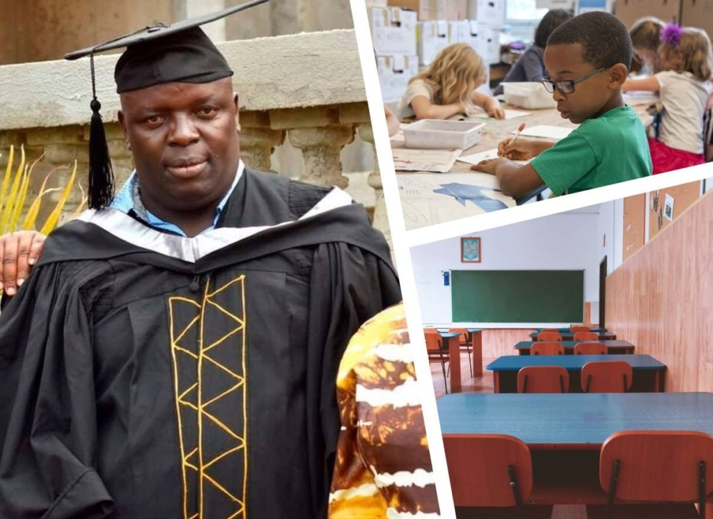 Мужчина из Кении рассказал почему учился в начальной школе 22 года и только в 38 лет получил диплом