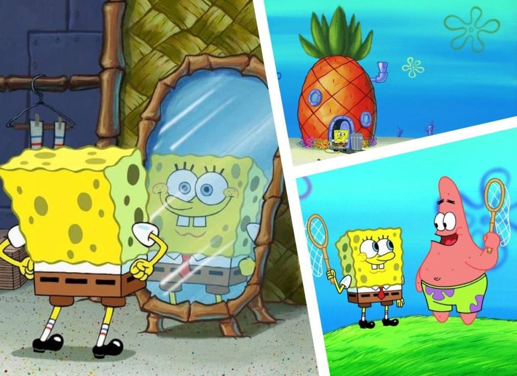 В США учёные нашли  настоящих Губку Боба и Патрика на дне океана и показали фото — они реальны, но точно не друзья