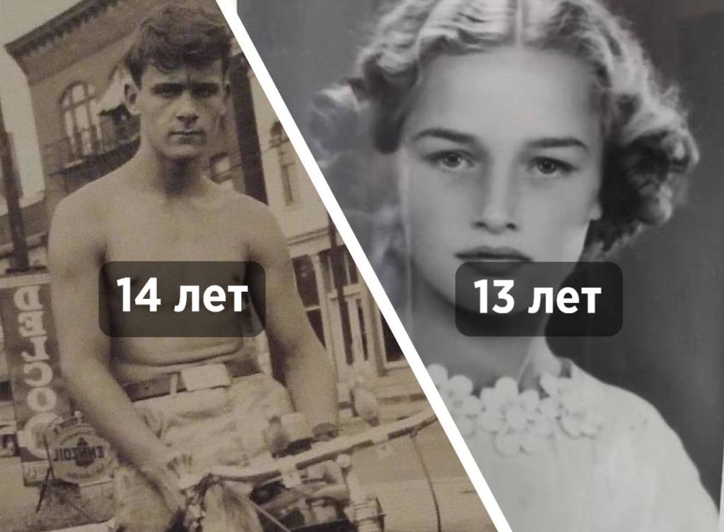 10+ фото, которые докажут вам, что в прошлом люди «старели» гораздо раньше и на это есть причина