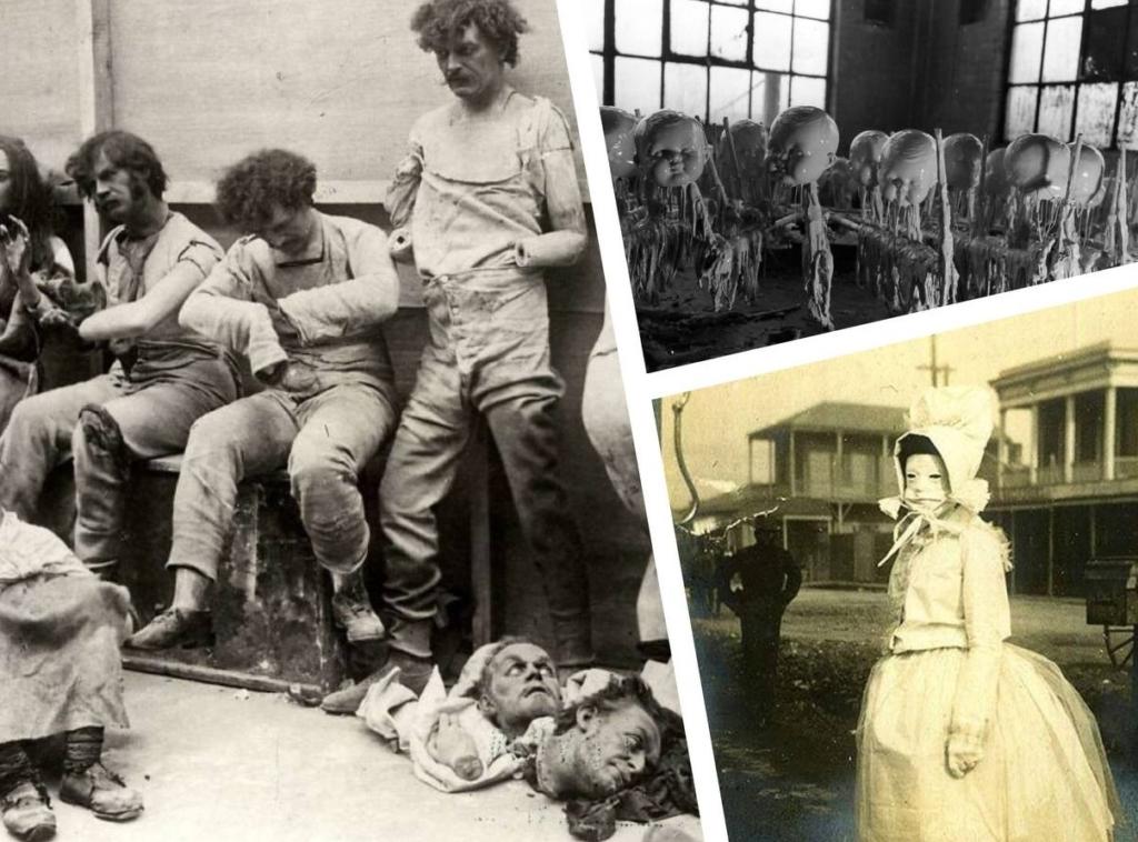 10+ страшных фото из прошлого, после просмотра которых кровь застынет в жилах