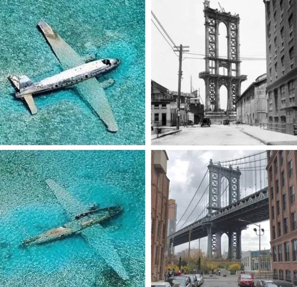 15+фото в стиле до и после, которые покажут нам как бежит время и меняет все вокруг