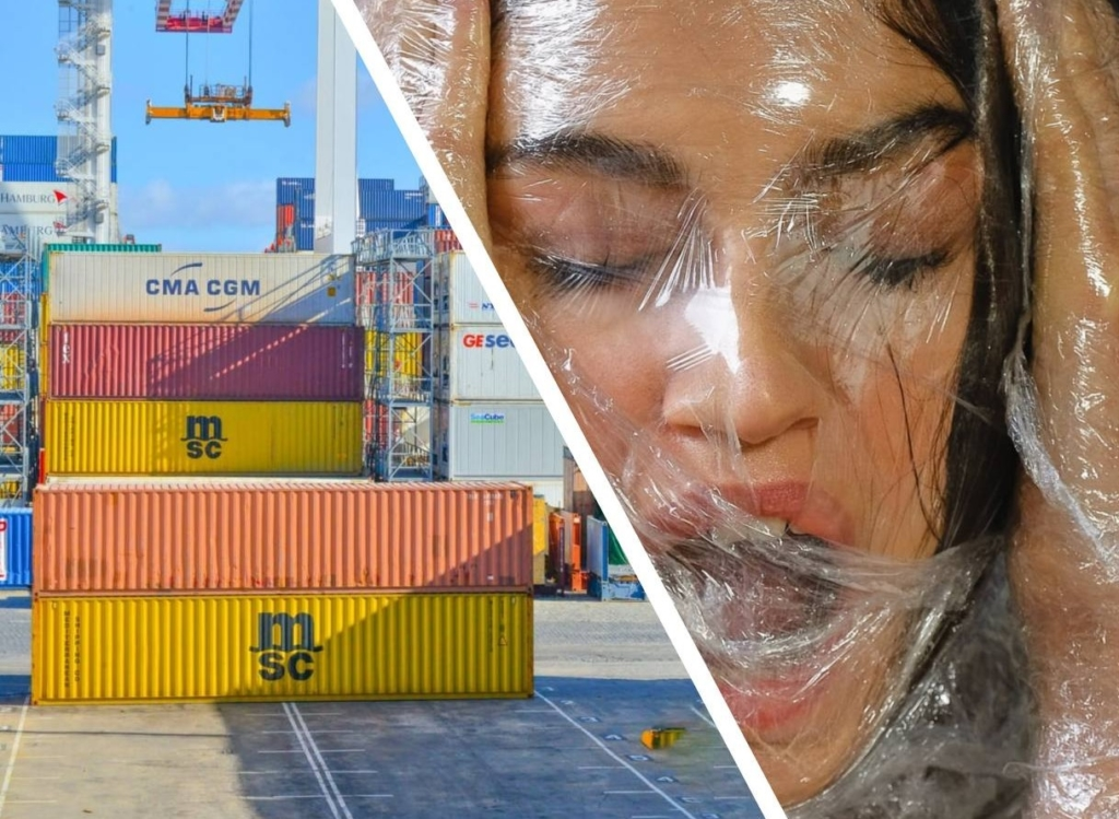 В Гватемале местные жители обнаружили странную находку —  заброшенный контейнер из которого исходили крики Разное,контейнер