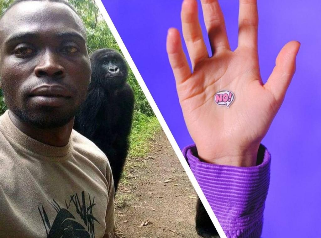 В сети появилось фото последних минут жизни гориллы на руках своего друга и это фото заставит плакать даже мужчин